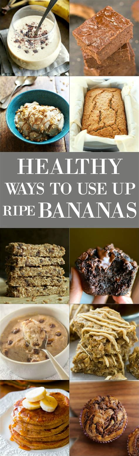 healthy ways     ripe bananas running