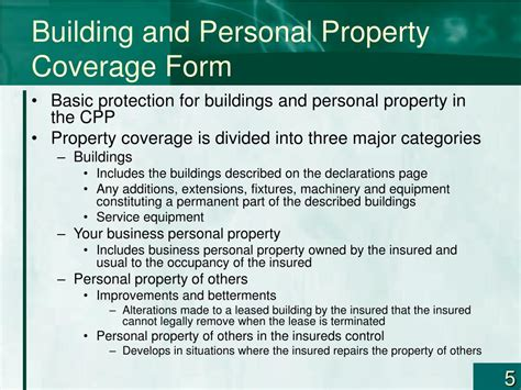 Commercial crime insurance provides customized policies for both small and large businesses. PPT - Risk Management and Commercial Property—Part I Chapter 9 PowerPoint Presentation - ID:332605