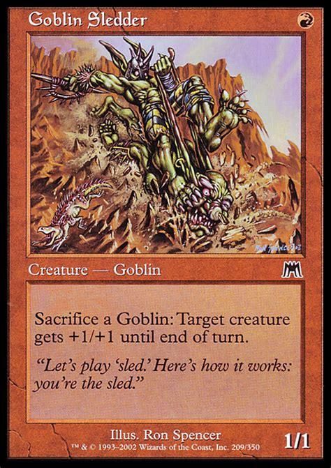 Goblin Charbelcher Edh Deck by Proxies For Deck Quot Edh Goblins Quot Deckstats Net