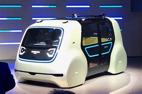 Self Driving Volkswagen Sedric Concept Revealed In Geneva