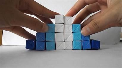 Origami Kinetic Jo Nakashima Sculpture Cube Diy