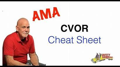 Cvor Cheat Sheet