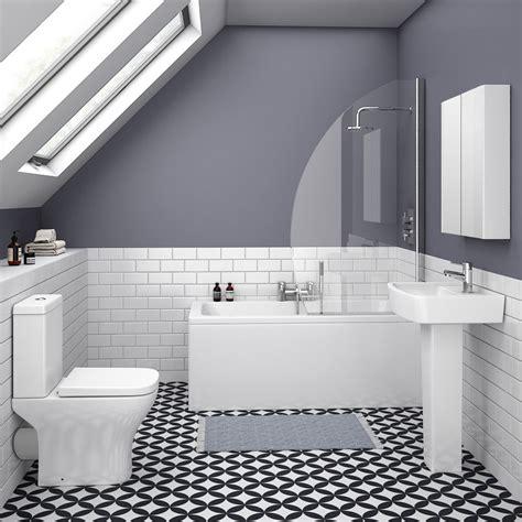 venice small  piece bathroom suite victorian plumbing uk