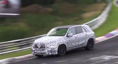 2019 Mercedesamg Gle 63 Spied On The Nurburgring, Is