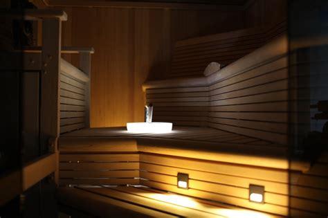 custom sauna  staten island  custom lighting