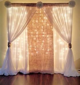 Curtain Wedding Backdrop Ideas OOSILE