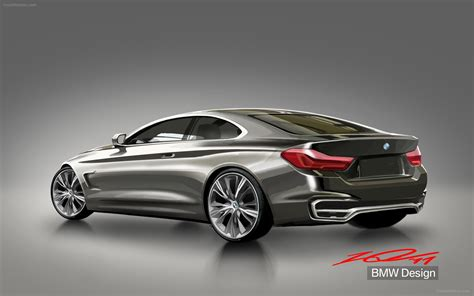 Bmw Concept 4 Series Coupe 2013 Widescreen Exotic Car