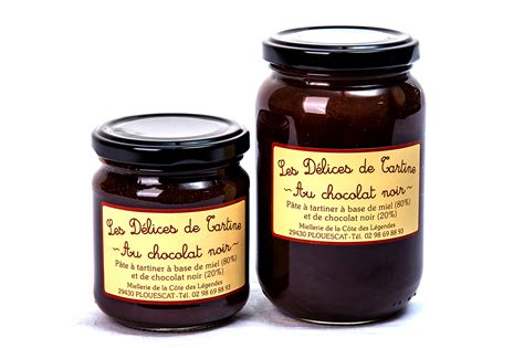 p 226 te 224 tartiner miel chocolat noir miellerie de plouescat