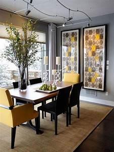Furniture: Dining Table Elegant Dining Room Decoration ...