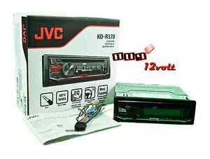 jvc kd r370 in dash mp3 wma car stereo receiver w dual aux 3 band equalizer ebay