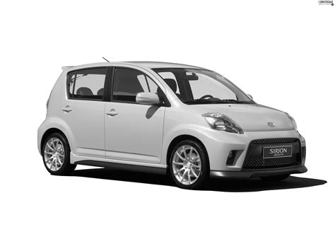 Daihatsu Backgrounds by Grayscale Yellow Daihatsu Sirion 3700x2775