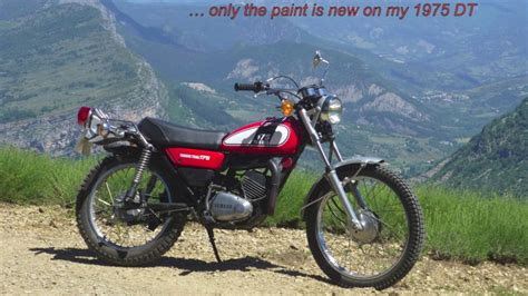 1975 Yamaha Dt 175 On And Off Road