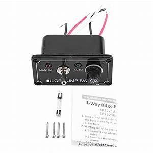 Switch Panel  12v Dc Led Indicator Bilge Pump Switch Panel