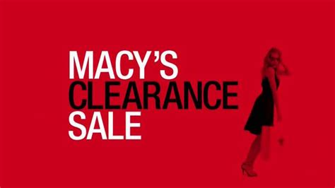 Macy's Clearance Sale TV Spot, 'Stock Up With Savings