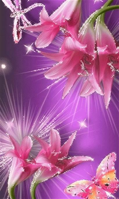 Flores Flowers Gifs Encontradas Animated Google Pretty