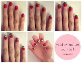 Nail art steps with pictures : Nail art su unghie arte per e frutta