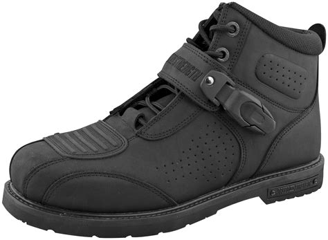 speed strength hard knock life motorcycle riding shoes