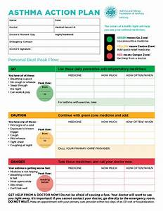 asthma action plan form for school templates resume With my asthma action plan template