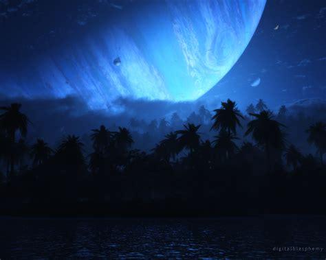 Digital Blasphemy 3d Wallpaper Atoll (nightfall) (2012) Free