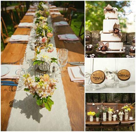 decoration mariage nature  champetre