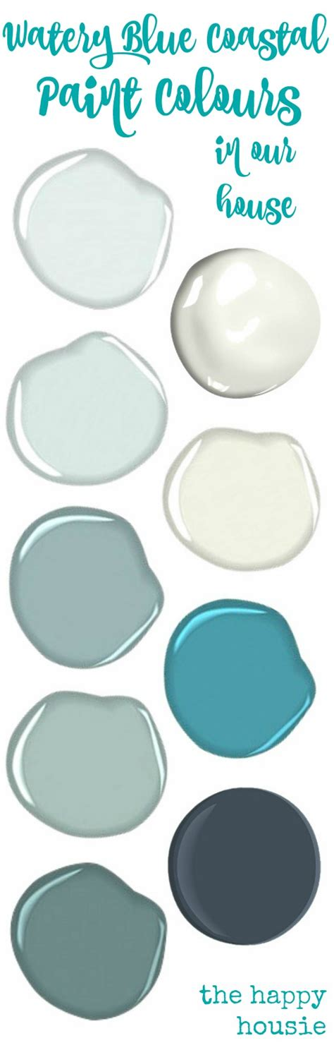 our paint colours the happy housie