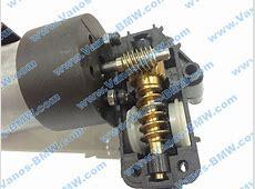 Gear repair servo front seat thigh support BMW 52107120189