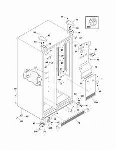 Frigidaire Refrigerator Ice  U0026 Water Dispenser Parts