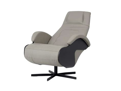recliner armchair with motorised functions class les contemporains collection by roche