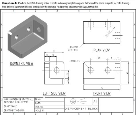 solidworks drawing template mechanical engineering archive march 10 2018 chegg