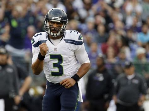 seattle seahawks russell wilson great potential