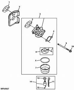 34 John Deere L110 Carburetor Diagram