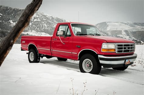 1993 Ford F-150 Xlt 4wd Work Truck 302 V8 Shop Truck