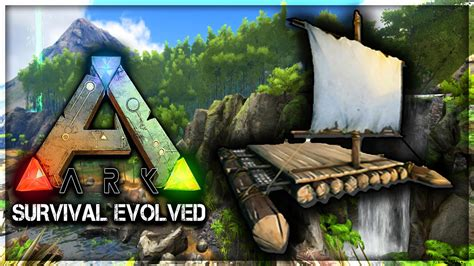 Ark Boat Glitch by Ark Survival Evolved Epic Raft Build Glitch Sink Raft