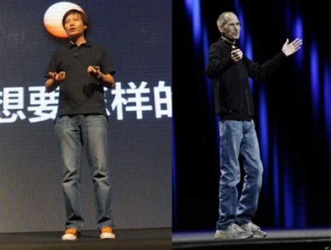 xiaomi ceo chinas latest fake steve jobs gizchinacom