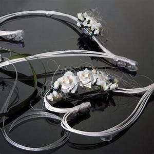 Deco Avec Piece De Voiture : coeur en rotin avec fleur ecru pour d coration de voiture de mariage x 2 pi ces ~ Medecine-chirurgie-esthetiques.com Avis de Voitures