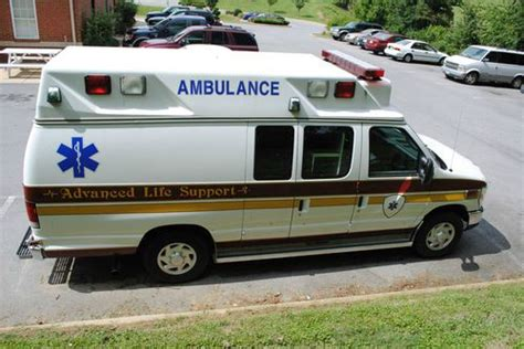 Find Used 2009 Ford E350 Van Type Ii Ambulance Aev