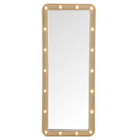 Door Solutions Led Light Up Over The Door Marquee Mirror