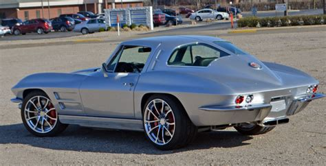 chevrolet corvette pro touring split window coupe