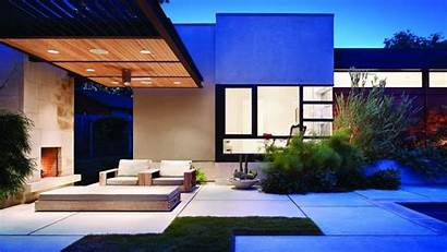Modern Garden Architecture Houses Wallpapers Contemporary Designs