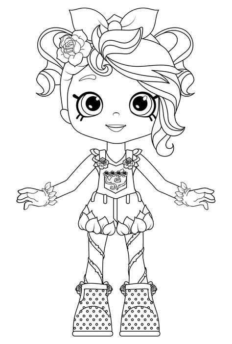 Coloring Pages by Rosie Bloom Colouring Page Get Coloring Pages
