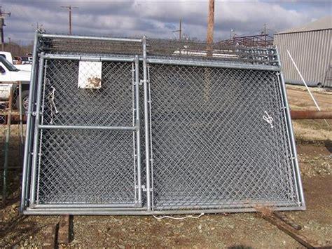 assembled chain link fence panels design ideas
