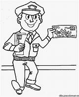 Community Coloring Persone Berufe Clipart Helpers Helper Mestieri Kolorowanki Colorear Colorare Poczta Carteros Disegno Kleurplaat Handwerk Preschool Postbode Cartero Categoria sketch template