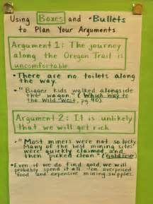 Boxes and Bullets Argument Essay Structure