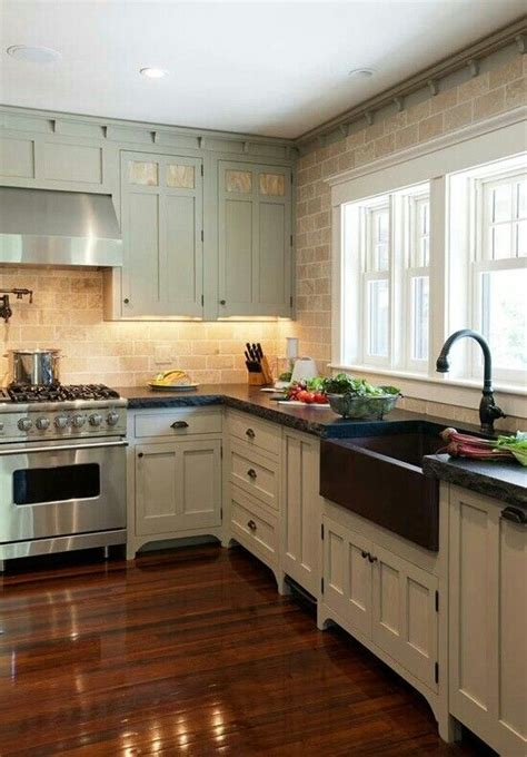 farmhouse kitchen colors farm house kitchen like the added trim on top kitchen 3697