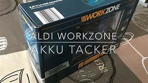 Aldi Akku Heckenschere : aldi workzone akku tacker youtube ~ Orissabook.com Haus und Dekorationen