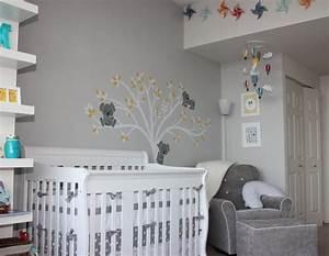 Wandfarbe Für Kinderzimmer : babyzimmer gestalten 29 ideen f r geschlechtsneutrale ~ Lizthompson.info Haus und Dekorationen