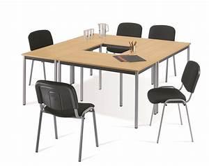 Table Ronde 140 Cm : table individuelle ronde diam 140 cm maxoffice32 mobilier de bureau am nagement salle de ~ Teatrodelosmanantiales.com Idées de Décoration