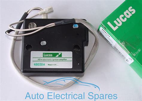 lucas dab  electronic ignition amplifier ab