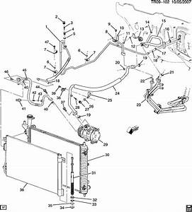 Gmc Acadia  2wd   C Refrigeration System  Front