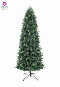 Weihnachtsbaum Kuenstlich Wie Echt : k nstlicher weihnachtsbaum 240 cm gr n slim parana pine ~ Michelbontemps.com Haus und Dekorationen